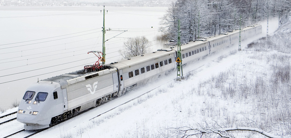 Travel with train to WCH